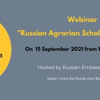 """ขอเชิญผู้สนใจเข้าร่วมฟังการบรรยาย """"Russian Agrarian Scholarships 2022"""""""